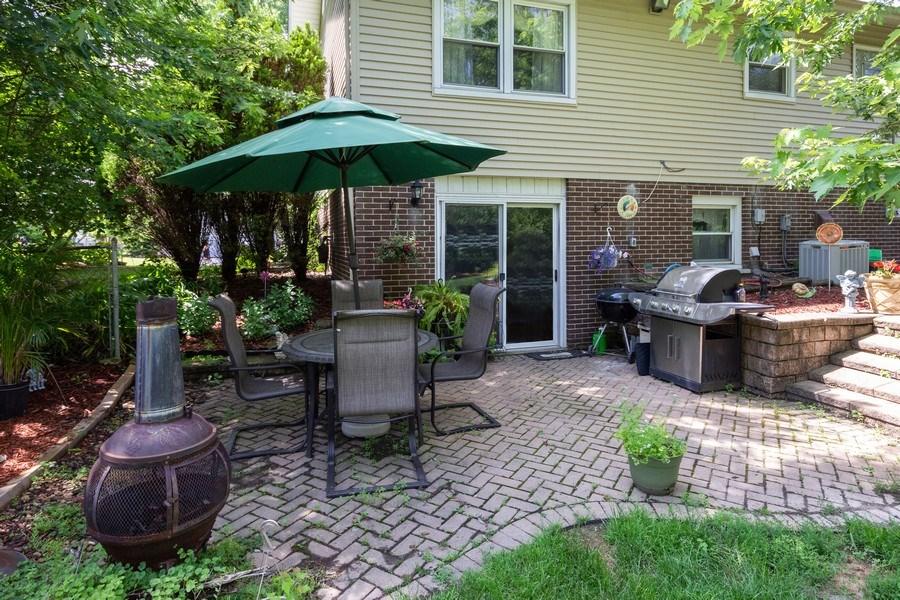 Real Estate Photography - 6324 Honey Lane, Tinley Park, IL, 60477 - Patio