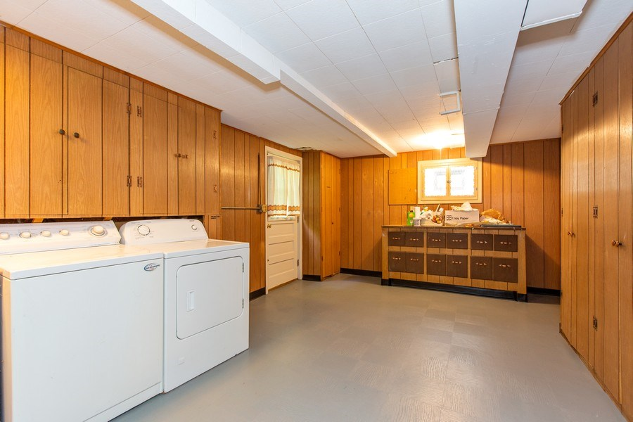 Real Estate Photography - 17538 70th Court, Tinley Park, IL, 60477 - Laundry Room