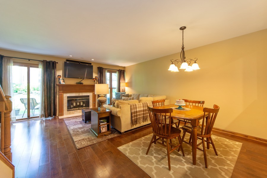 Real Estate Photography - 1950 N. Coldspring Road, Arlington Heights, IL, 60004 - Living Room / Dining Room
