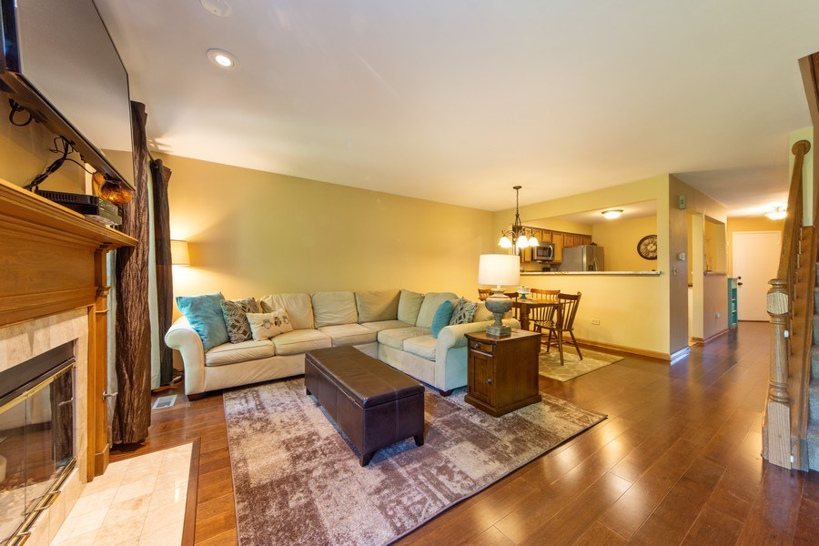 Real Estate Photography - 1950 N. Coldspring Road, Arlington Heights, IL, 60004 - Living Room/Dining Room