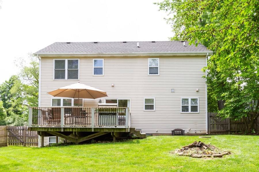 Real Estate Photography - 15 Ash Drive, Oakwood Hills, IL, 60013 - Rear View