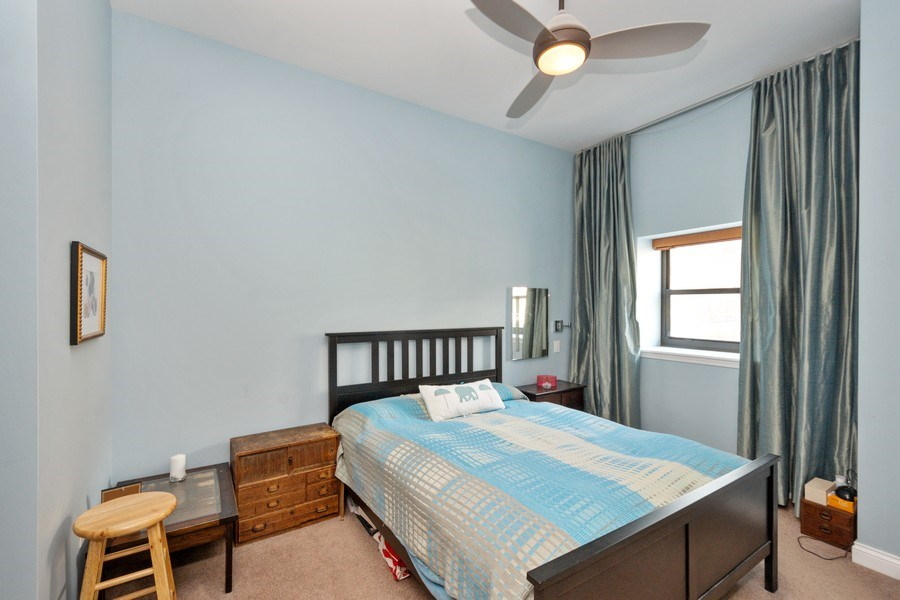 Real Estate Photography - 8 W. MONROE Street, Unit 908, Chicago, IL, 60603 - Master Bedroom