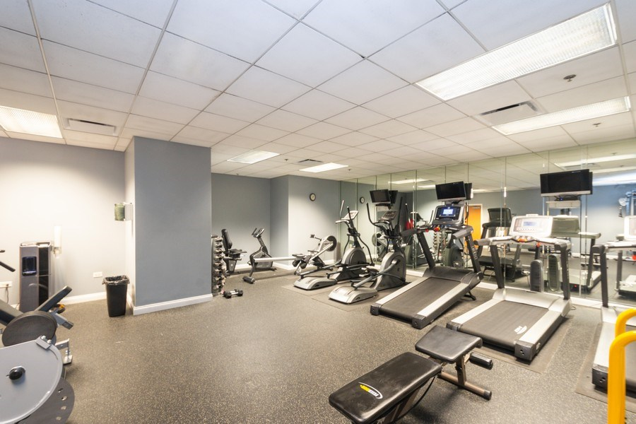 Real Estate Photography - 8 W. MONROE Street, Unit 908, Chicago, IL, 60603 - Fitness Center