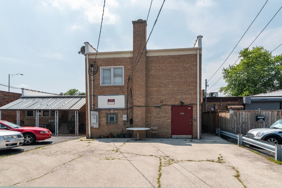 Real Estate Photography - 1409 Harlem Ave, Berwyn, IL, 60402 - Rear View