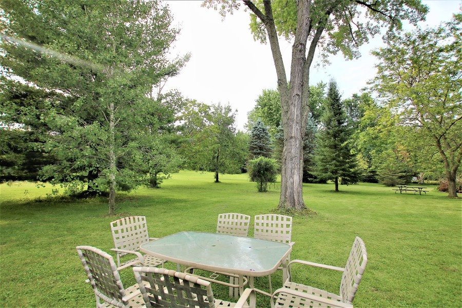 Real Estate Photography - 35W252 Country School Road, Dundee, IL, 60118 - View from the Patio Area