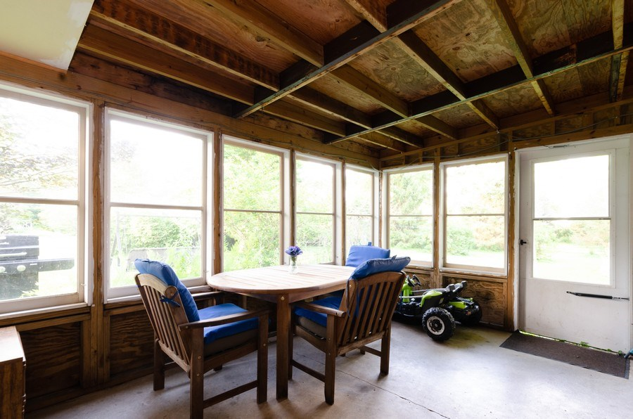 Real Estate Photography - 35W252 Country School Road, Dundee, IL, 60118 - Screened Porch