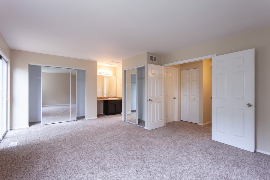 Real Estate Photography - 2930 Pine Tree Court, Aurora, IL, 60502 - Master Bedroom