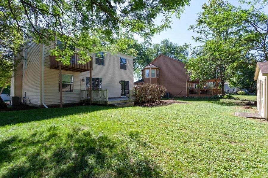 Real Estate Photography - 2930 Pine Tree Court, Aurora, IL, 60502 - Rear View
