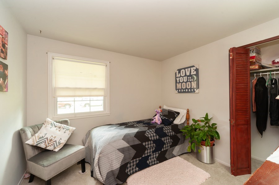 Real Estate Photography - 621 W. Weathersfield Way, Schaumburg, IL, 60193 - 4th Bedroom