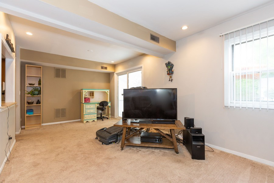Real Estate Photography - 7S409 CREEK Drive, Naperville, IL, 60540 - FAMILY ROOM/DINING ROOM