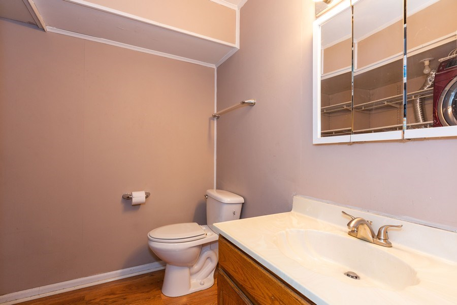 Real Estate Photography - 7S409 CREEK Drive, Naperville, IL, 60540 - POWDER ROOM/LAUNDRY ROOM