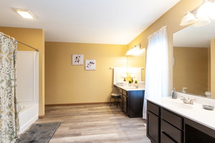 Real Estate Photography - 3912 Stonebridge Drive, Zion, IL, 60099 - Master Bathroom