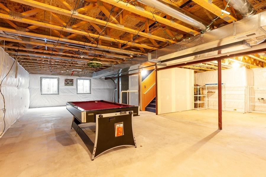 Real Estate Photography - 3912 Stonebridge Drive, Zion, IL, 60099 - Basement