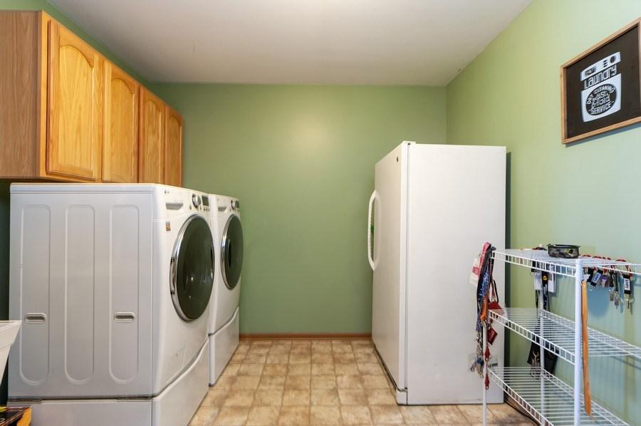 Real Estate Photography - 3912 Stonebridge Drive, Zion, IL, 60099 - Laundry Room
