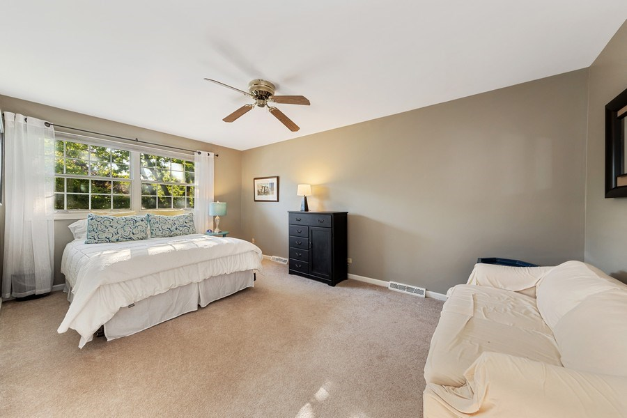 Real Estate Photography - 1937 Buckingham Drive, Wheaton, IL, 60189 - 2nd Bedroom