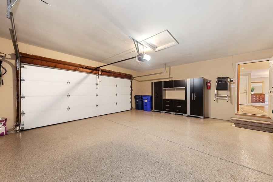 Real Estate Photography - 1937 Buckingham Drive, Wheaton, IL, 60189 - Garage