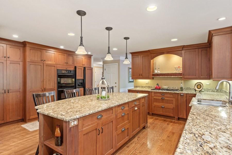 Real Estate Photography - 1937 Buckingham Drive, Wheaton, IL, 60189 - Kitchen