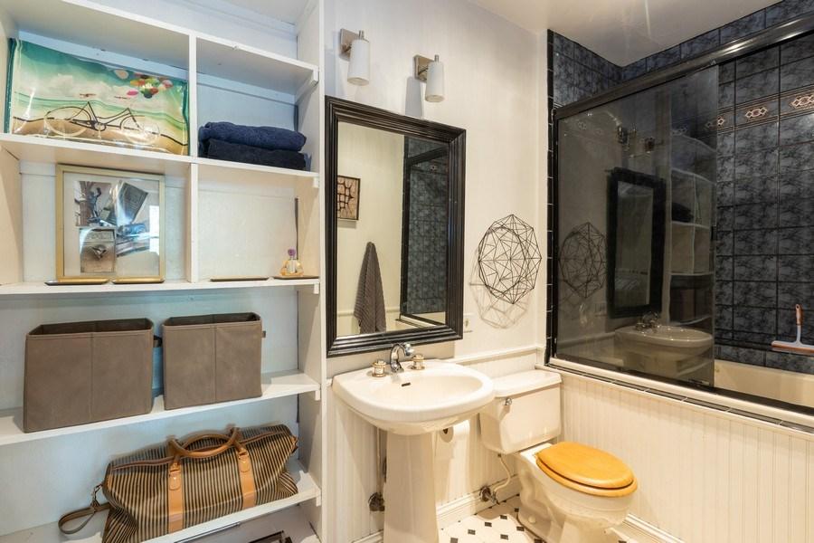 Real Estate Photography - 2800 N. PINE GROVE Avenue, Unit 3C, Chicago, IL, 60657 - Bathroom