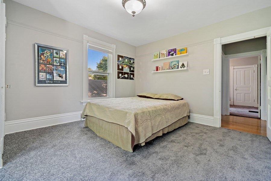 Real Estate Photography - 3419 Wenonah Avenue, Berwyn, IL, 60402 - 2nd Bedroom