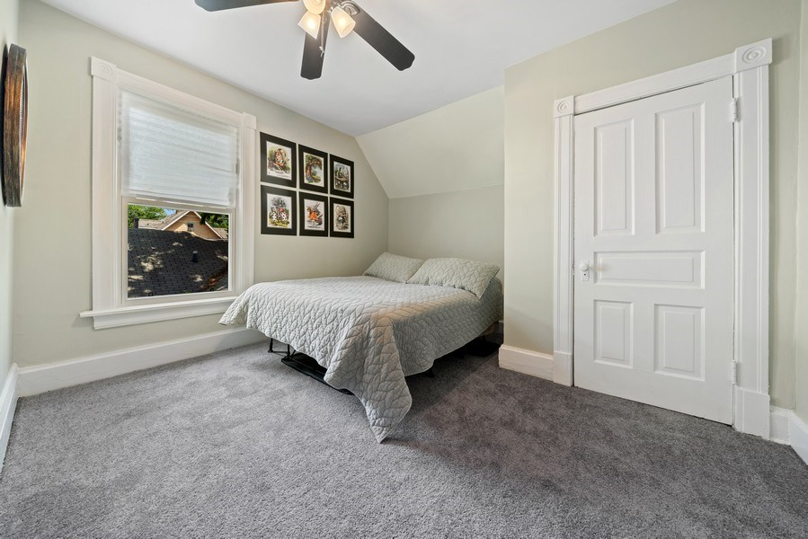 Real Estate Photography - 3419 Wenonah Avenue, Berwyn, IL, 60402 - 3rd Bedroom
