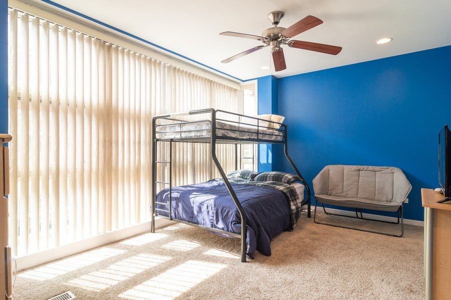 Real Estate Photography - 3337 W. IRVING PARK Road, Unit 3E, Chicago, IL, 60618 - 2nd Bedroom