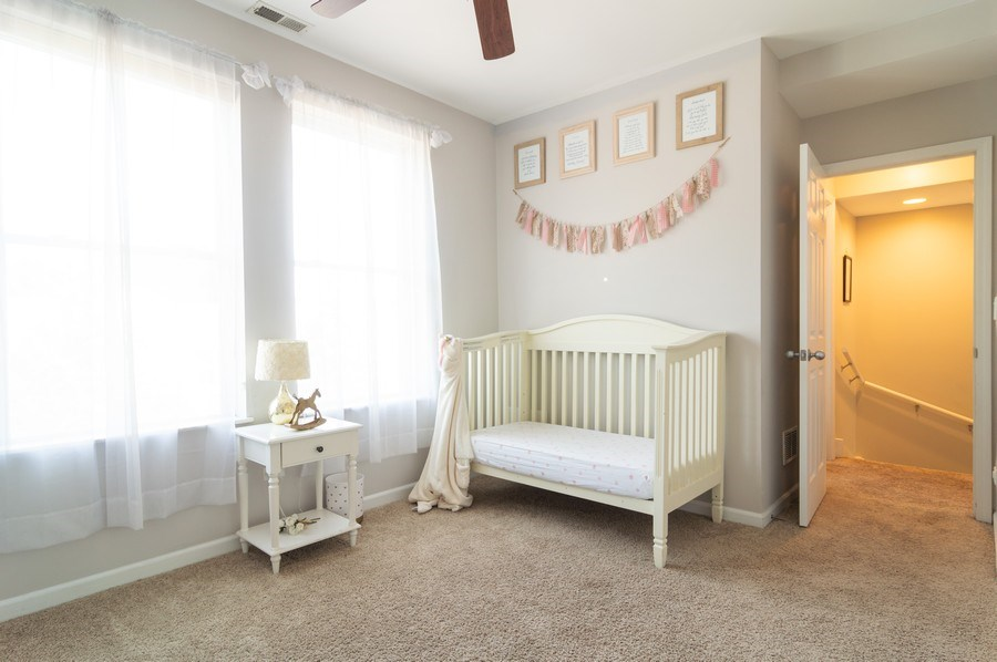 Real Estate Photography - 3337 W. IRVING PARK Road, Unit 3E, Chicago, IL, 60618 - 3rd Bedroom