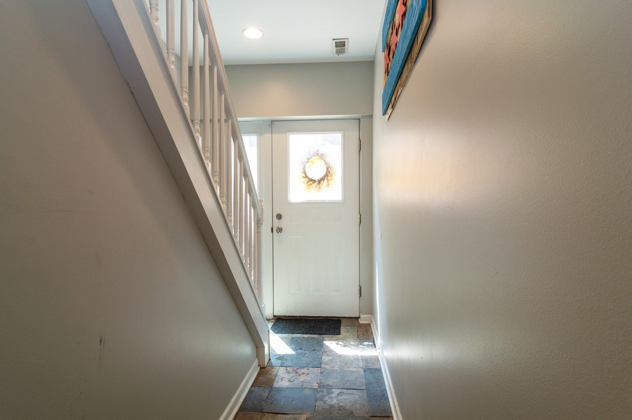 Real Estate Photography - 3337 W. IRVING PARK Road, Unit 3E, Chicago, IL, 60618 - Foyer