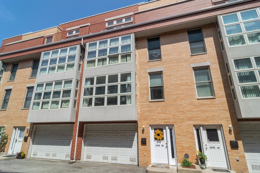 Real Estate Photography - 3337 W. IRVING PARK Road, Unit 3E, Chicago, IL, 60618 - Front View