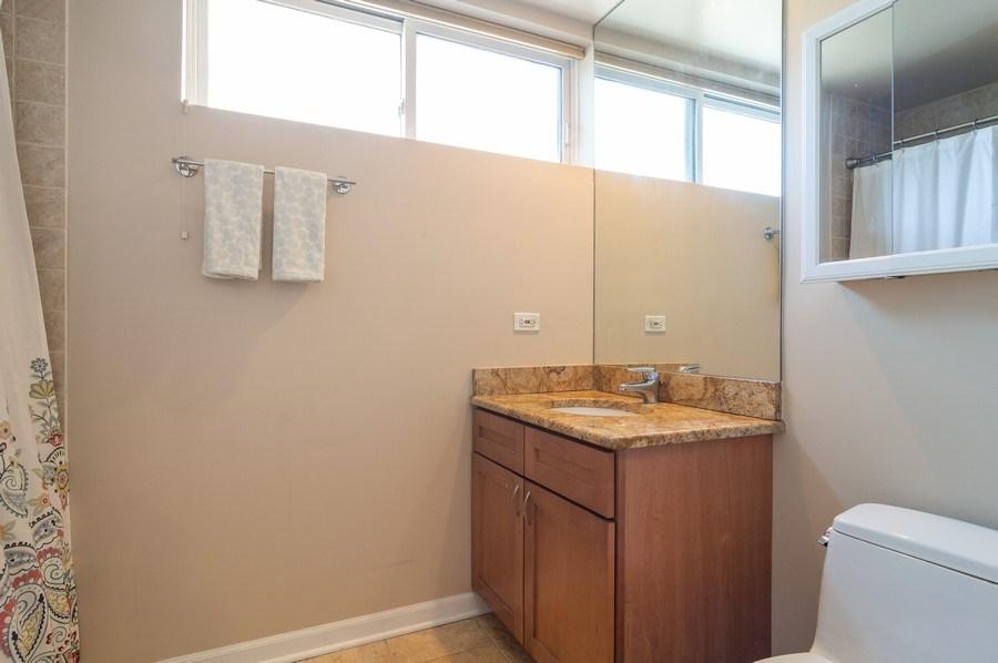 Real Estate Photography - 3337 W. IRVING PARK Road, Unit 3E, Chicago, IL, 60618 - Bathroom