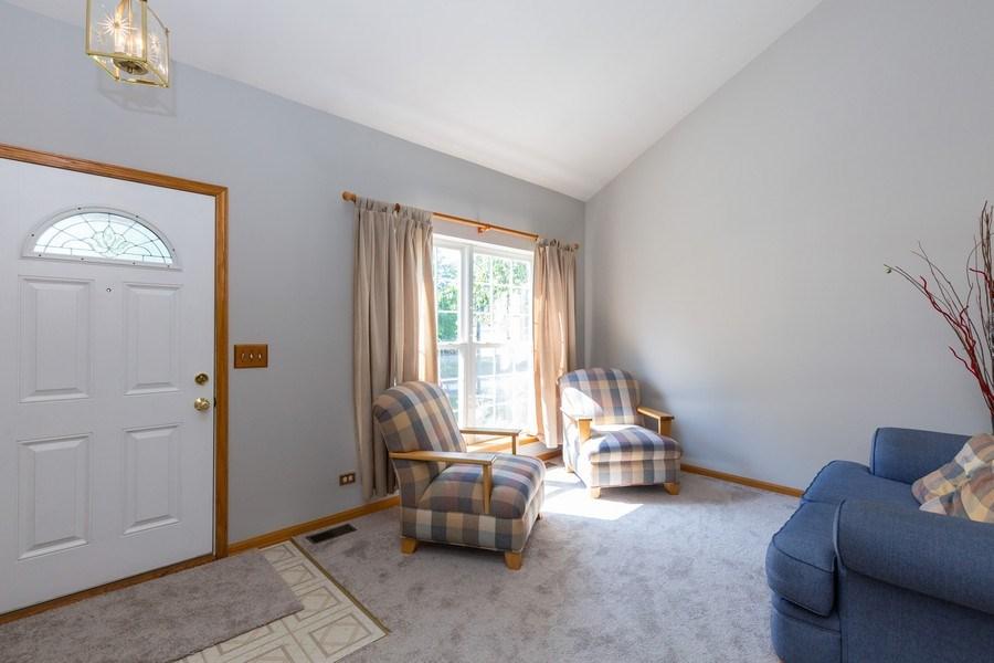 Real Estate Photography - 2445 Meadowsedge Lane, Carpentersville, IL, 60110 - LIVING ROOM