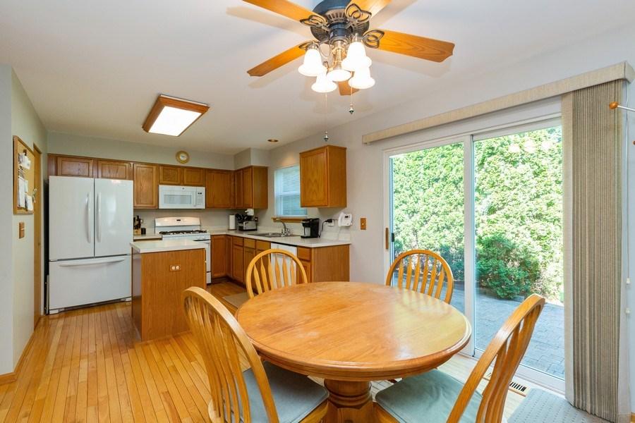 Real Estate Photography - 2445 Meadowsedge Lane, Carpentersville, IL, 60110 - KITCHEN--Plenty of room for large kitchen table!