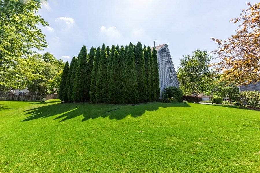 Real Estate Photography - 2445 Meadowsedge Lane, Carpentersville, IL, 60110 - REAR VIEW