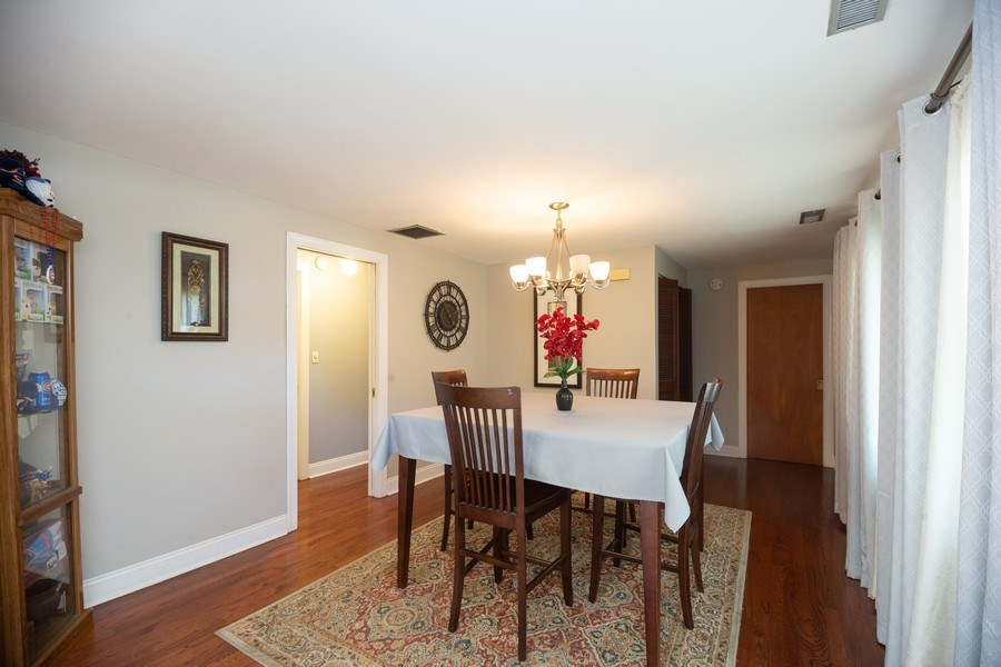 Real Estate Photography - 1115 Potter Rd, Park Ridge, IL, 60068 - Dining Room