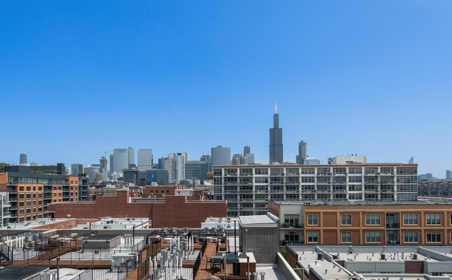 Real Estate Photography - 15 South Throop St, 606, Chicago, IL, 60607 - View