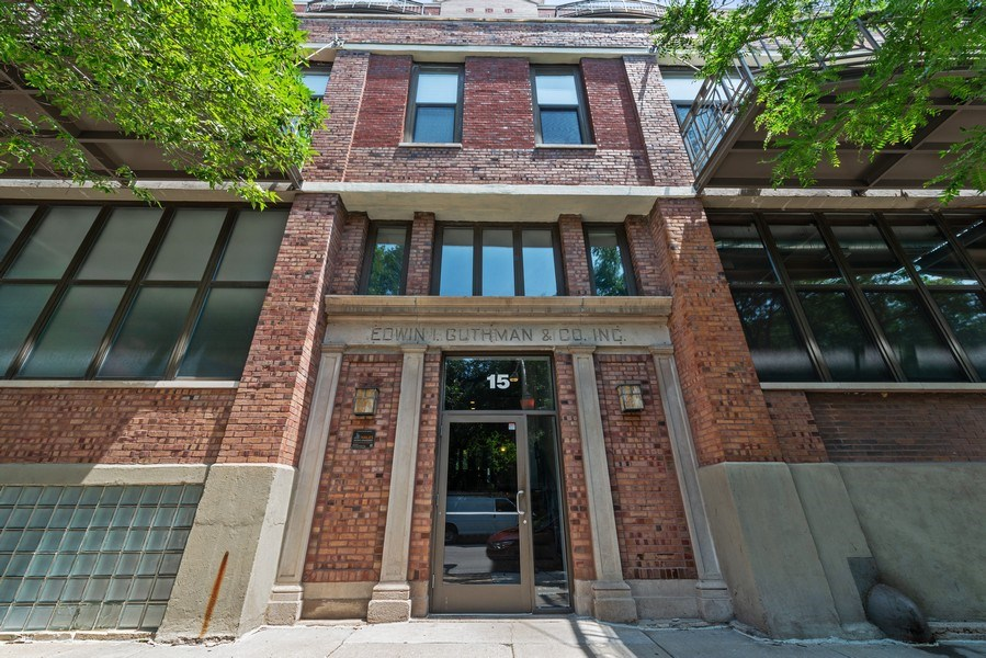 Real Estate Photography - 15 South Throop St, 606, Chicago, IL, 60607 - Front View
