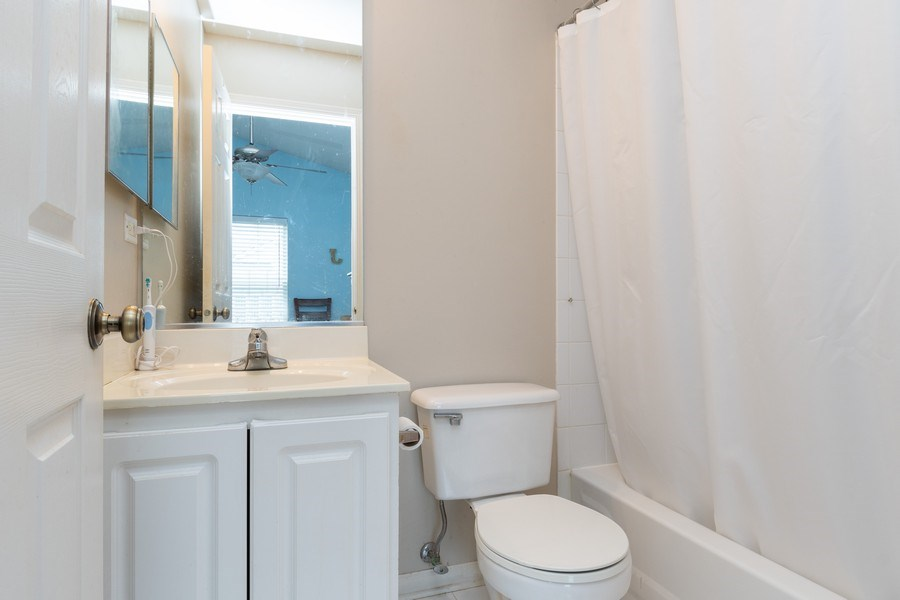 Real Estate Photography - 2454 Frost Drive, Unit 2454, Aurora, IL, 60503 - Master Bathroom
