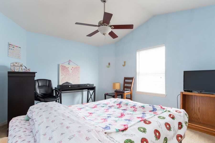 Real Estate Photography - 2454 Frost Drive, Unit 2454, Aurora, IL, 60503 - Master Bedroom