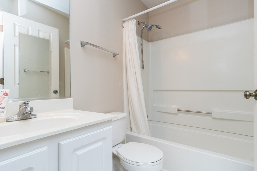 Real Estate Photography - 2454 Frost Drive, Unit 2454, Aurora, IL, 60503 - 2nd Bathroom