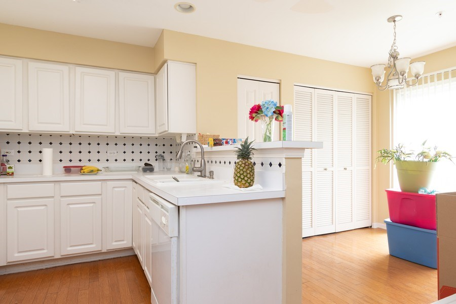 Real Estate Photography - 2454 Frost Drive, Unit 2454, Aurora, IL, 60503 - Kitchen / Dining Room