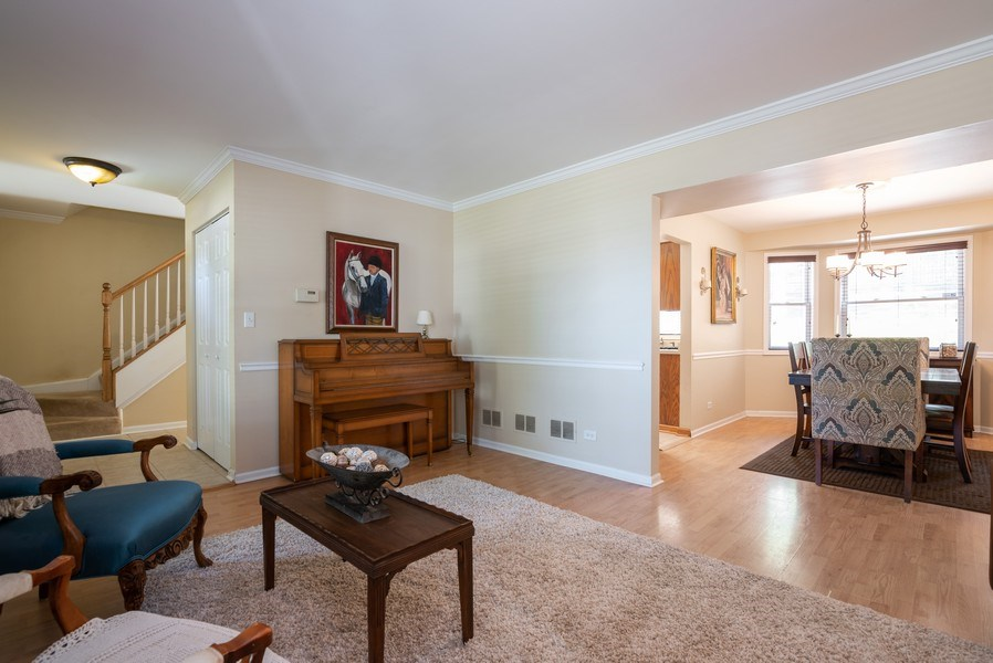 Real Estate Photography - 1065 MEGHAN Avenue, Algonquin, IL, 60102 - Living Room