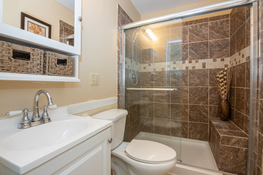 Real Estate Photography - 1065 MEGHAN Avenue, Algonquin, IL, 60102 - Master Bathroom