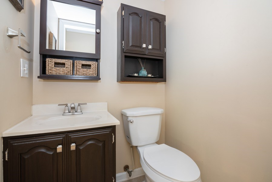 Real Estate Photography - 1065 MEGHAN Avenue, Algonquin, IL, 60102 - Powder Room