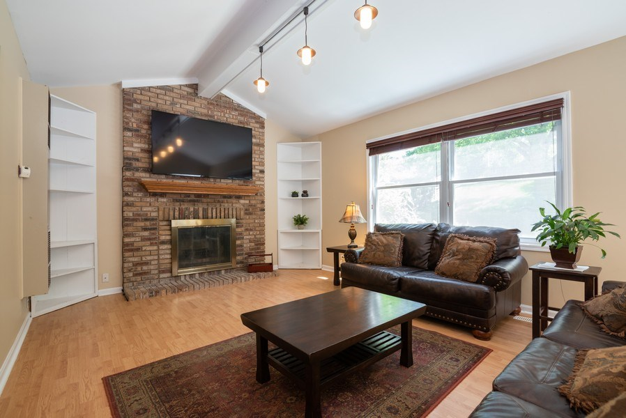 Real Estate Photography - 1065 MEGHAN Avenue, Algonquin, IL, 60102 - Family Room