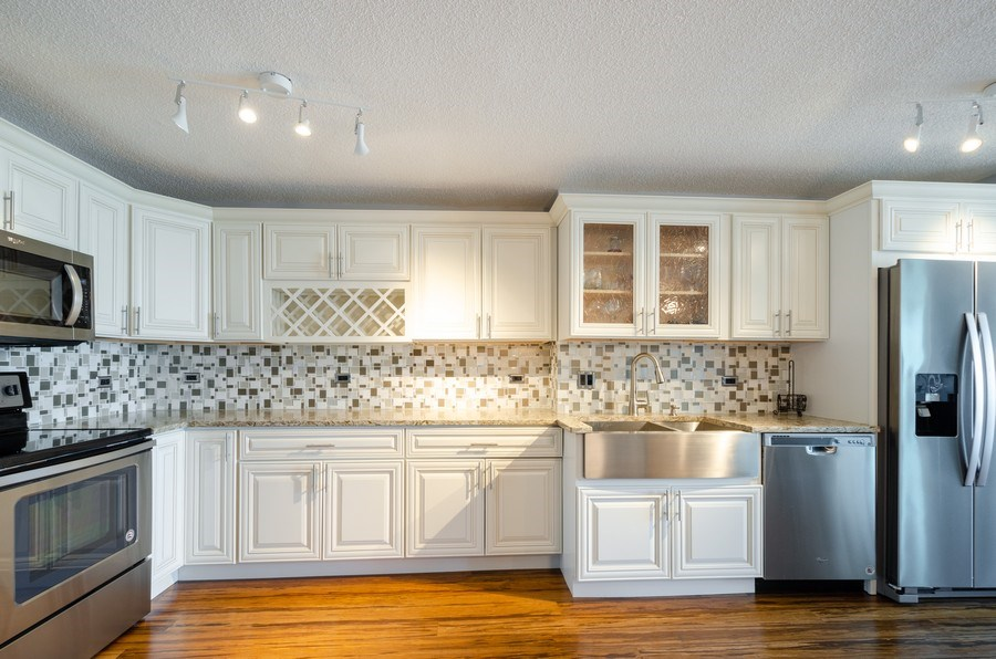 Real Estate Photography - 800 Elgin Road, Unit 1508, Evanston, IL, 60201 - Kitchen