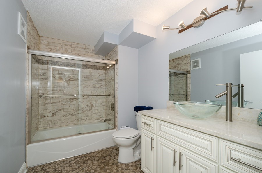 Real Estate Photography - 800 Elgin Road, Unit 1508, Evanston, IL, 60201 - Bathroom
