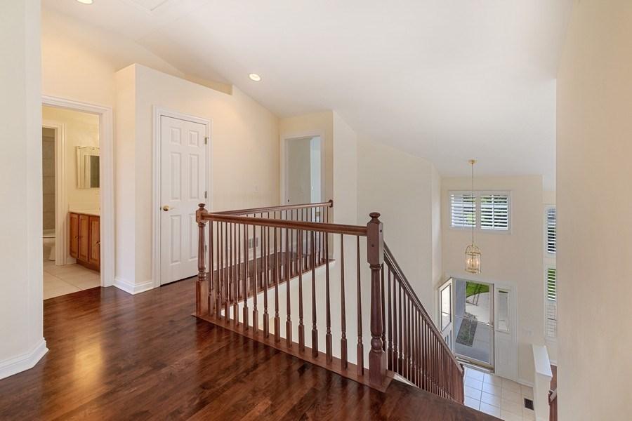 Real Estate Photography - 2315 Chestnut Avenue, Glenview, IL, 60026 - Bedroom Level Hardwood Floor Open Landing
