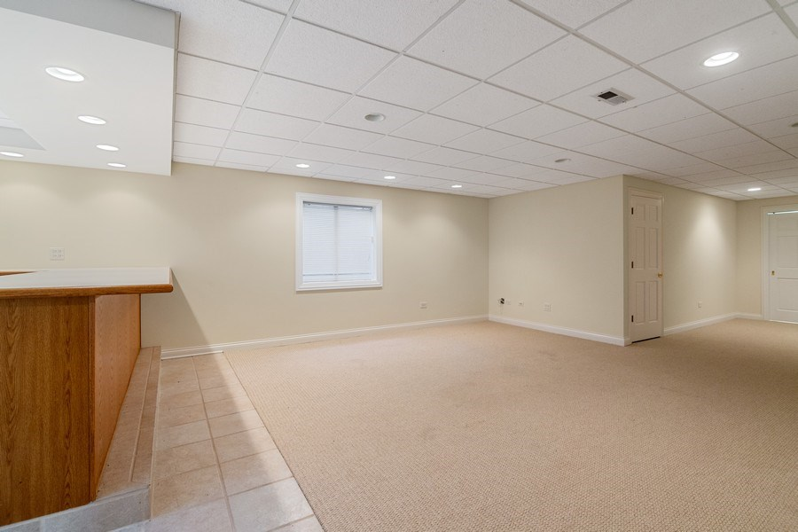 Real Estate Photography - 2315 Chestnut Avenue, Glenview, IL, 60026 - Huge Basement with Lots of Storage