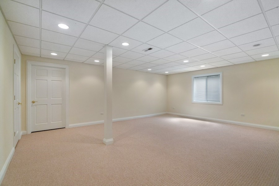 Real Estate Photography - 2315 Chestnut Avenue, Glenview, IL, 60026 - Basement (Opt) 6th Bedroom