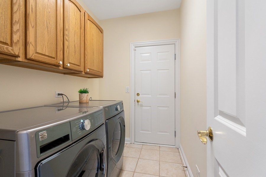 Real Estate Photography - 2315 Chestnut Avenue, Glenview, IL, 60026 - Laundry Room