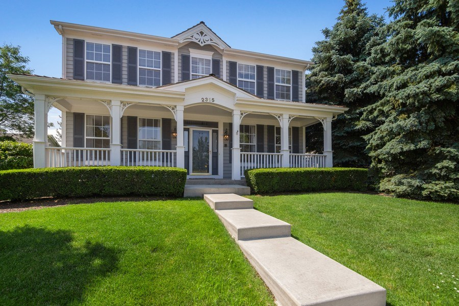 Real Estate Photography - 2315 Chestnut Avenue, Glenview, IL, 60026 - Front View
